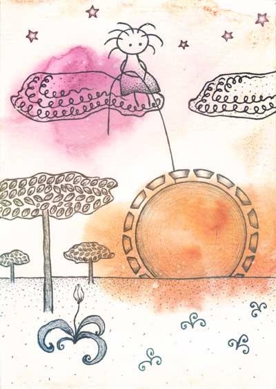 Метафорические карты Ангел-хранитель Ангел расцвета