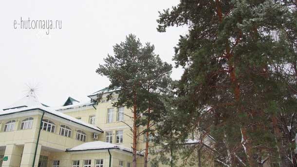 Отель Борвиха Бердск Административный корпус