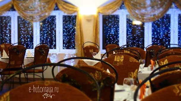 Отель Борвиха Бердск Банкетный зал предыдущее оформление