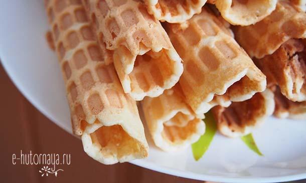 Вкусные летние блюда Сахарные вафли