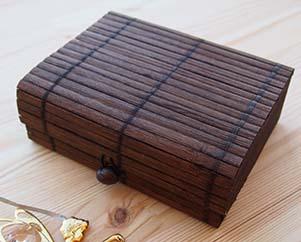 Бамбуковая коробочка для метафорических карт Миниатюра